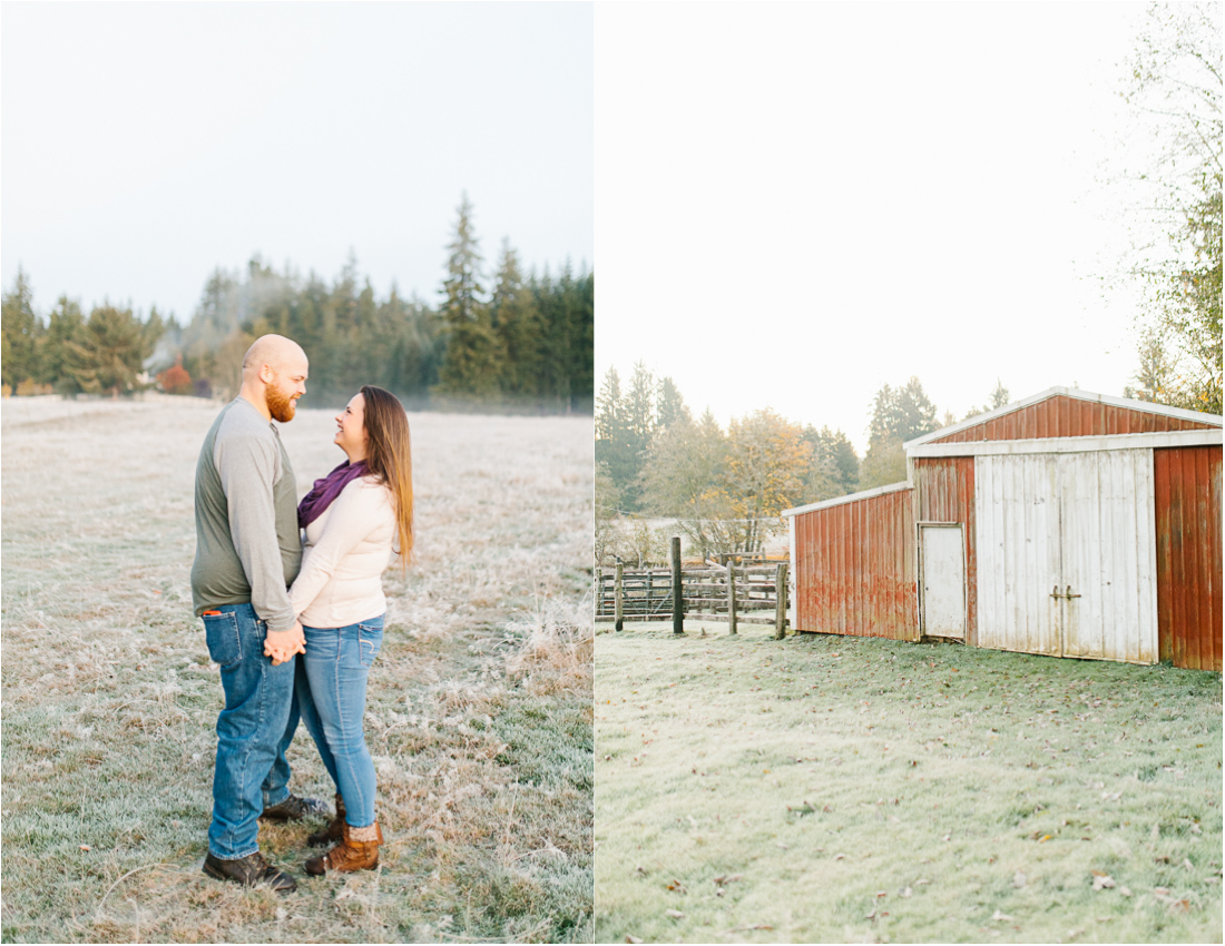 Sunrise Engagement Session on Cattle Ranch | Emma Rose Brides | Emma Rose Company Photography | Beautiful Sunrise Photo Session | VSCO | Winter Engagement Frosty Field Photo Session | Cute Engagement Inspiration.jpg