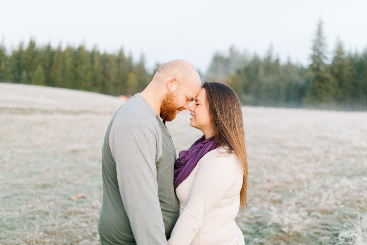 Sunrise Engagement Session on Cattle Ranch | Emma Rose Brides | Emma Rose Company Photography | Beautiful Sunrise Photo Session | VSCO | Winter Engagement Frosty Field Photo Session | Cute Engagement Inspiration-2.jpg