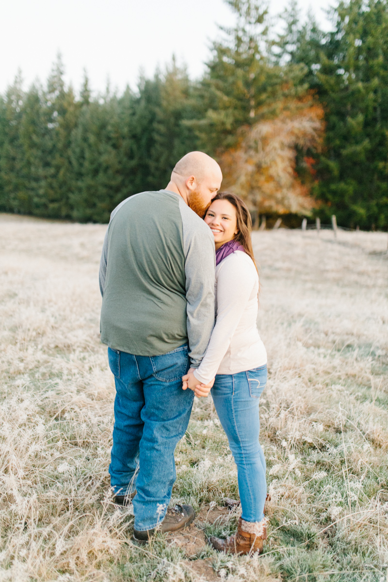 Sunrise Engagement Session on Cattle Ranch | Emma Rose Brides | Emma Rose Company Photography | Beautiful Sunrise Photo Session | VSCO | Winter Engagement Frosty Field Photo Session | Cute Engagement Inspiration-3.jpg