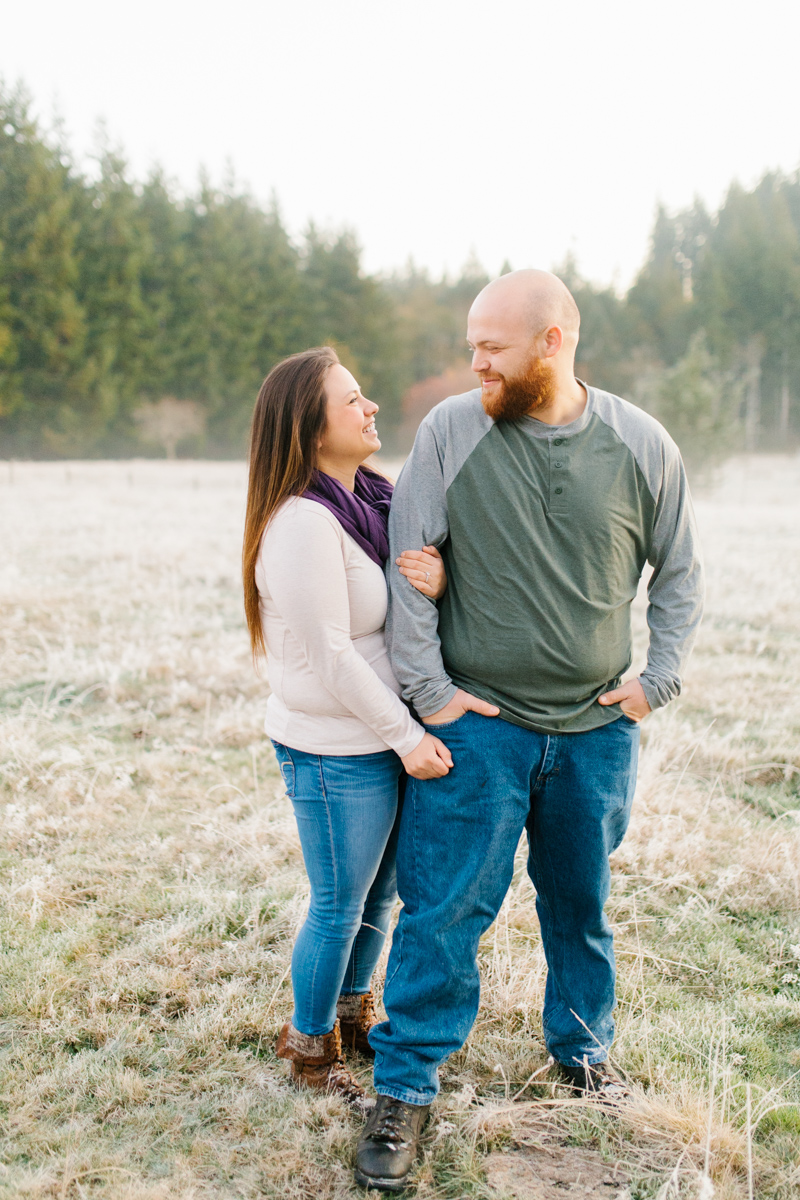 Sunrise Engagement Session on Cattle Ranch | Emma Rose Brides | Emma Rose Company Photography | Beautiful Sunrise Photo Session | VSCO | Winter Engagement Frosty Field Photo Session | Cute Engagement Inspiration-6.jpg