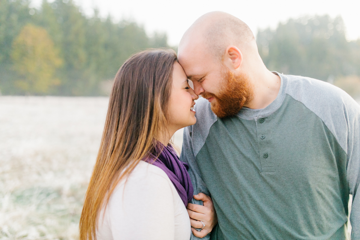 Sunrise Engagement Session on Cattle Ranch | Emma Rose Brides | Emma Rose Company Photography | Beautiful Sunrise Photo Session | VSCO | Winter Engagement Frosty Field Photo Session | Cute Engagement Inspiration-7.jpg