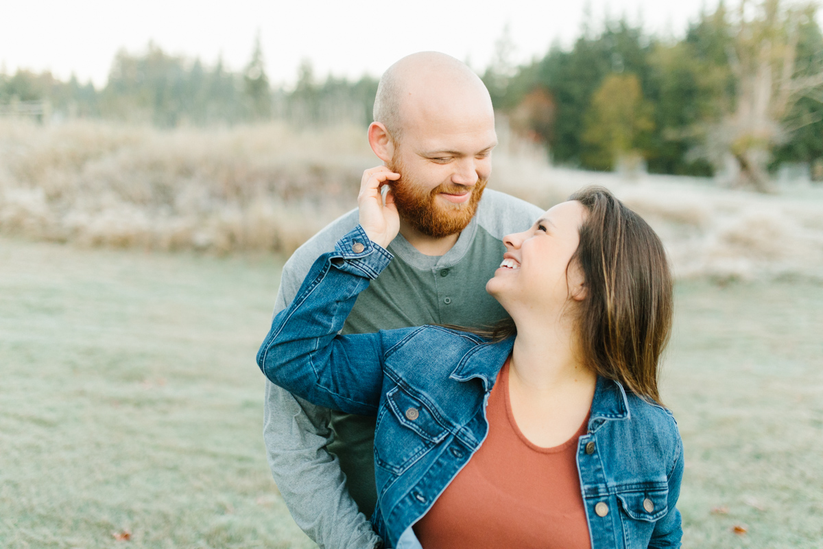 Sunrise Engagement Session on Cattle Ranch | Emma Rose Brides | Emma Rose Company Photography | Beautiful Sunrise Photo Session | VSCO | Winter Engagement Frosty Field Photo Session | Cute Engagement Inspiration-26.jpg