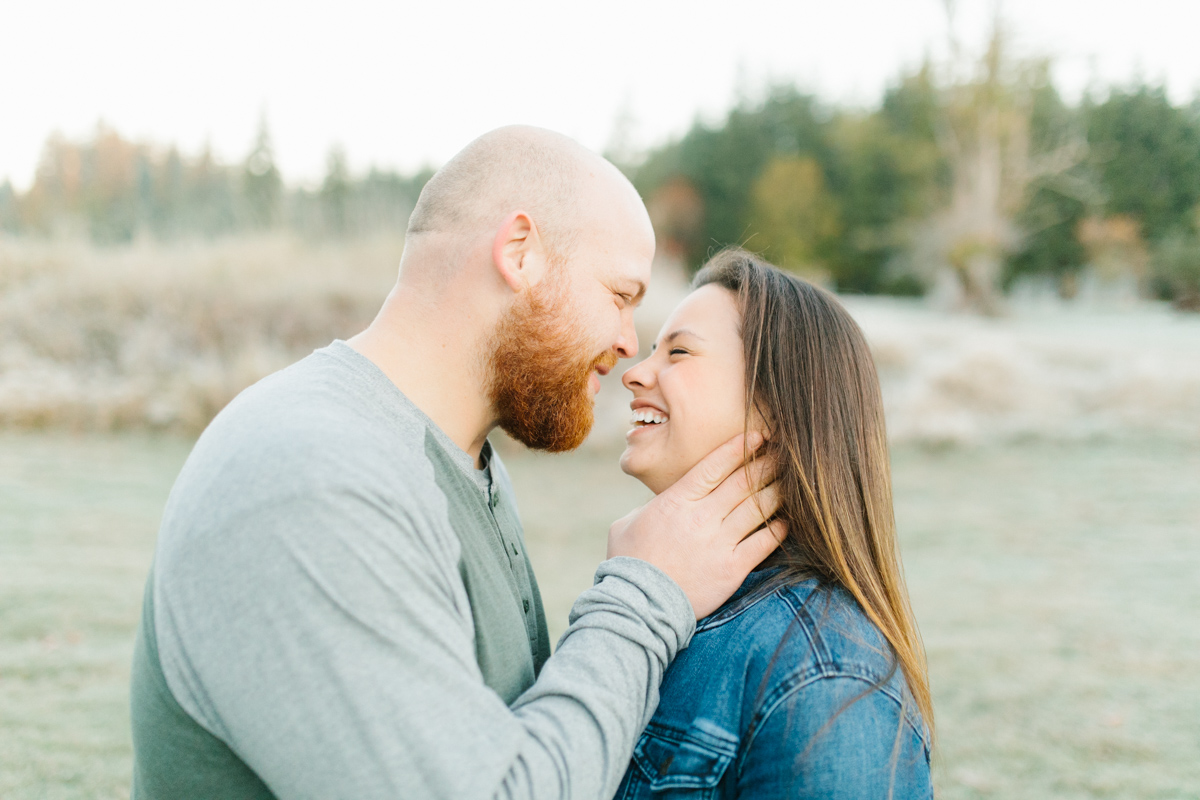 Sunrise Engagement Session on Cattle Ranch | Emma Rose Brides | Emma Rose Company Photography | Beautiful Sunrise Photo Session | VSCO | Winter Engagement Frosty Field Photo Session | Cute Engagement Inspiration-32.jpg