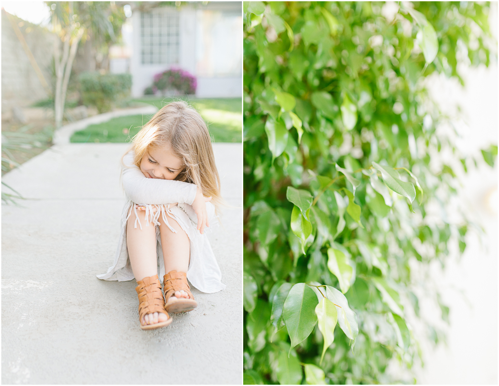 Emma Rose Company   Personal Blog   Adorable Toddler in Sunny California