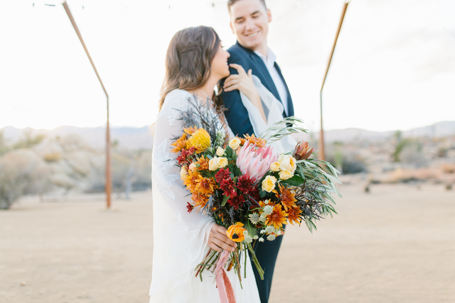The Ruin Venue California   California Bride Inspiration   Fall Styled Shoot in the Desert   Epic Styled Shoot   Southern California Wedding Photographer   The Dress Theory   Fall Desert Wedding