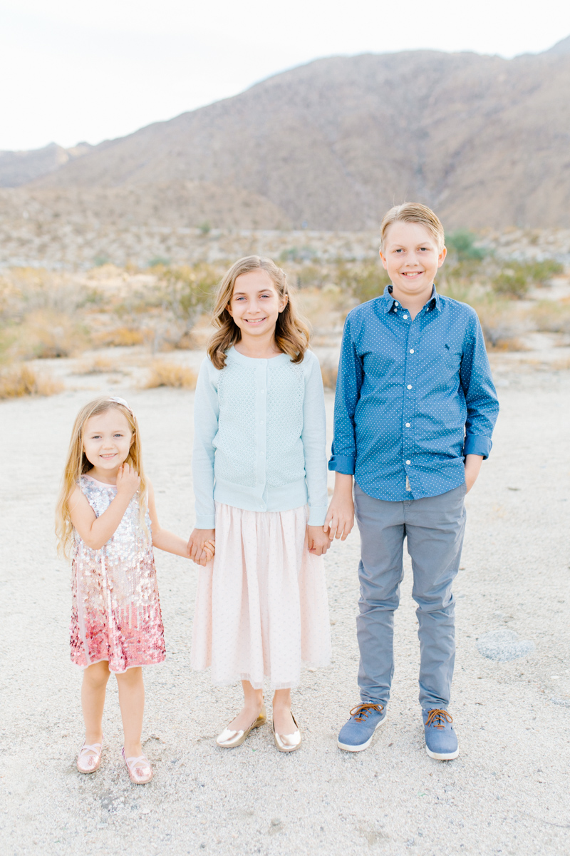 The Most Perfect Desert Family Photo Session | Palm Springs Photography | What to Wear to Family Pictures | VSCO | Emma Rose Company | Gorgeous Sunset Family Session-1.jpg