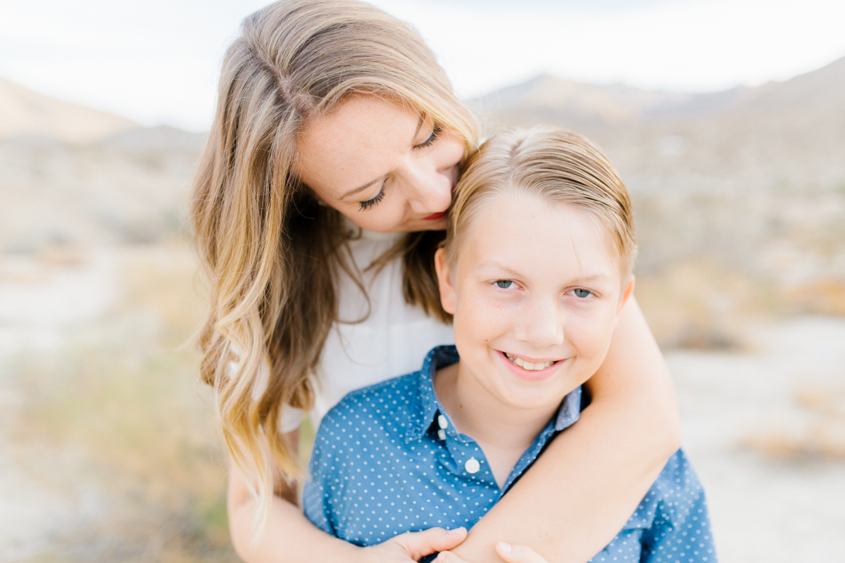The Most Perfect Desert Family Photo Session | Palm Springs Photography | What to Wear to Family Pictures | VSCO | Emma Rose Company | Gorgeous Sunset Family Session-7.jpg