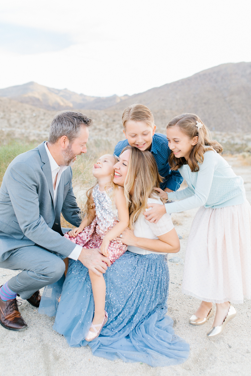 The Most Perfect Desert Family Photo Session | Palm Springs Photography | What to Wear to Family Pictures | VSCO | Emma Rose Company | Gorgeous Sunset Family Session-9.jpg