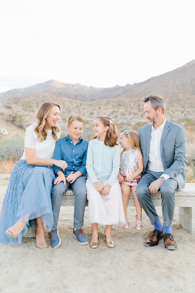 The Most Perfect Desert Family Photo Session | Palm Springs Photography | What to Wear to Family Pictures | VSCO | Emma Rose Company | Gorgeous Sunset Family Session-23.jpg
