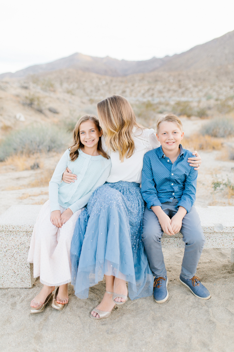 The Most Perfect Desert Family Photo Session | Palm Springs Photography | What to Wear to Family Pictures | VSCO | Emma Rose Company | Gorgeous Sunset Family Session-27.jpg