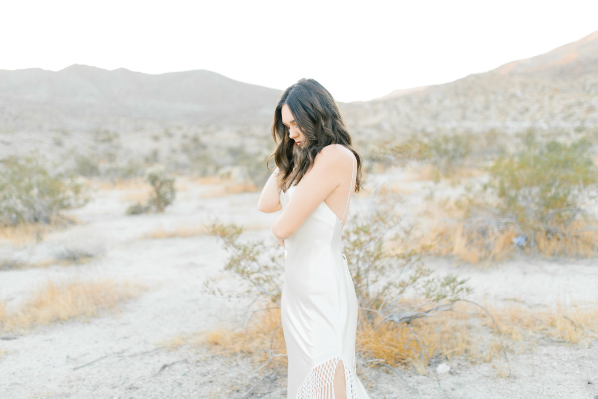 Palm Springs Desert Bridal Session | Non Traditional Wedding Inspiration | Destination Wedding Photography | Sunrise Palm Springs Session in Wedding Dress | Southern California Bride | So Cal Wedding | Emma Rose Company-3.jpg
