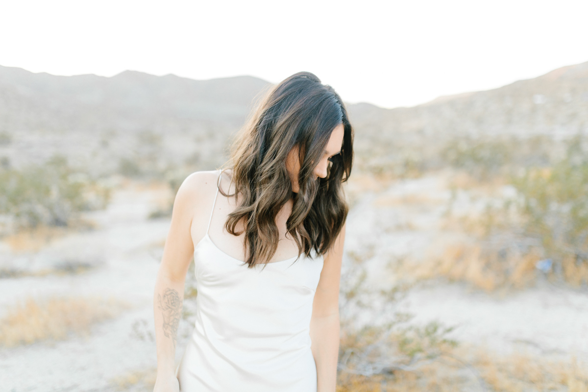 Palm Springs Desert Bridal Session | Non Traditional Wedding Inspiration | Destination Wedding Photography | Sunrise Palm Springs Session in Wedding Dress | Southern California Bride | So Cal Wedding | Emma Rose Company-5.jpg