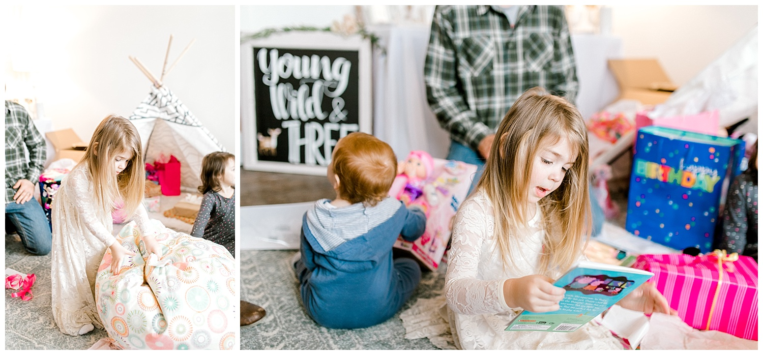 The Most Perfect Little Girl's Birthday Party Design | Animal Themed Toddler Birthday | Emma Rose Company | Blush and Grey Roses