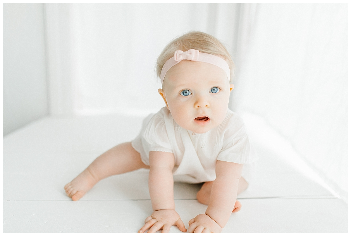 The Sweetest Six Month Old Studio Session | Emma Rose Company | Seattle Lifestyle Photographer | Baby Bows.jpg