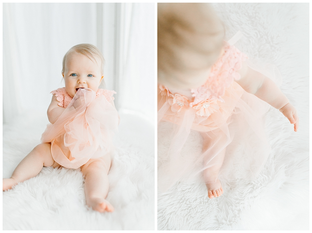 The Sweetest Six Month Old Studio Session | Emma Rose Company | Seattle Lifestyle Photographer | Dress for Baby Session.jpg