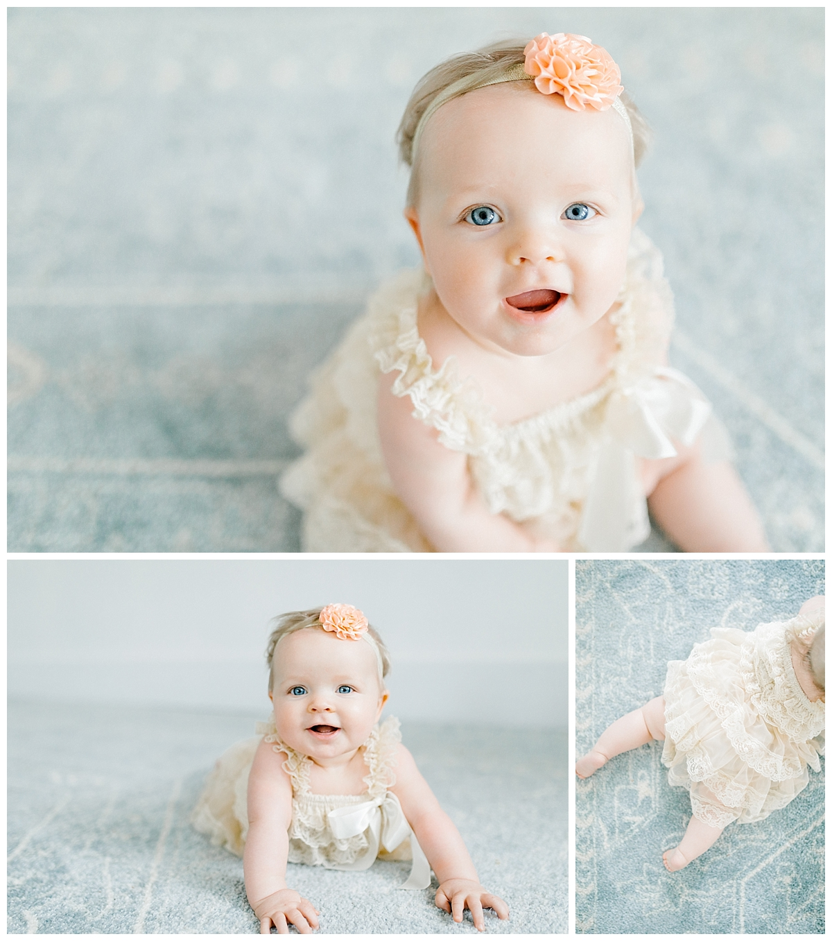 The Sweetest Six Month Old Studio Session | Emma Rose Company | Seattle Lifestyle Photographer Baby Girl Session Six Months.jpg