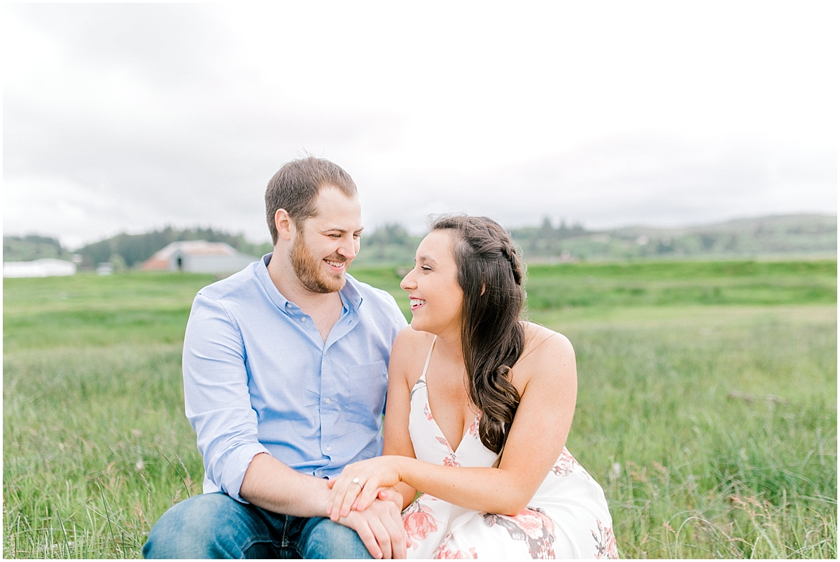 Gorgeous Beach and Ranch Engagement Session, Pacific Northwest Elopement Wedding Photographer, What to Wear to Engagement Pictures, Kindred Presets, Seattle Wedding Photographer0008.jpg