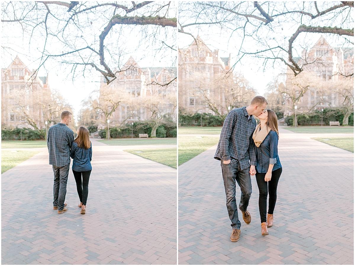 University of Washington Engagement Session | College Campus Photo Session | UW | Seattle Engagement Session | Seattle Wedding Photographer | Emma Rose Company8.jpg