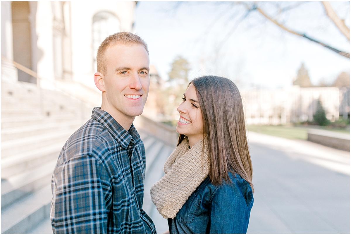 University of Washington Engagement Session | College Campus Photo Session | UW | Seattle Engagement Session | Seattle Wedding Photographer | Emma Rose Company11.jpg