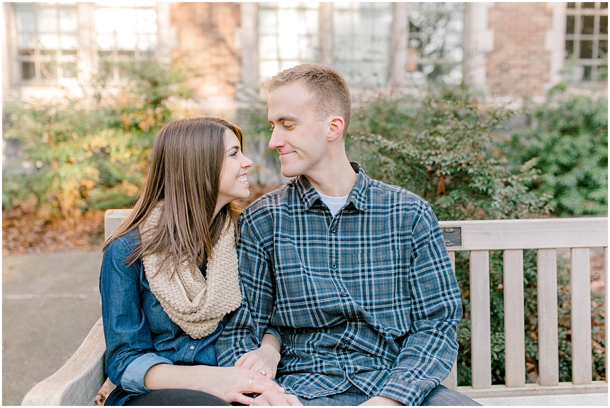 University of Washington Engagement Session | College Campus Photo Session | UW | Seattle Engagement Session | Seattle Wedding Photographer | Emma Rose Company32.jpg