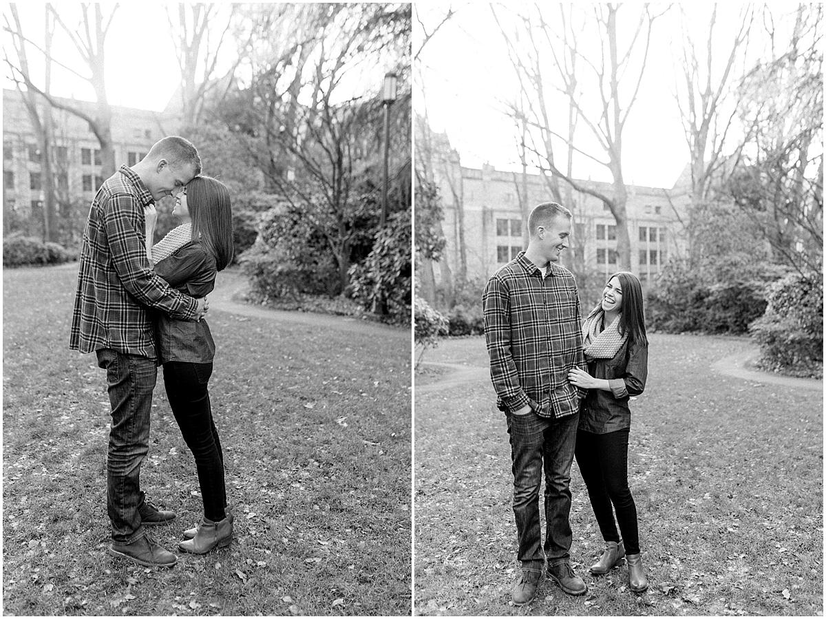 University of Washington Engagement Session | College Campus Photo Session | UW | Seattle Engagement Session | Seattle Wedding Photographer | Emma Rose Company38.jpg