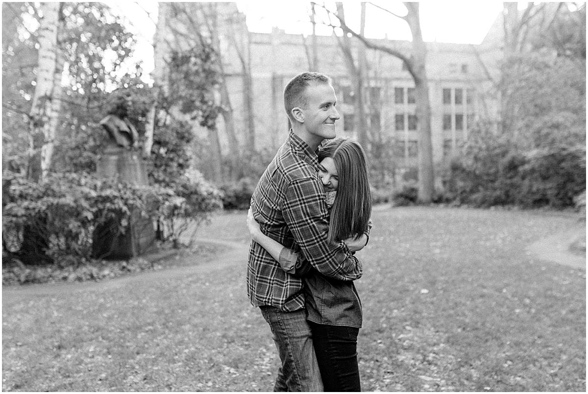 University of Washington Engagement Session | College Campus Photo Session | UW | Seattle Engagement Session | Seattle Wedding Photographer | Emma Rose Company42.jpg