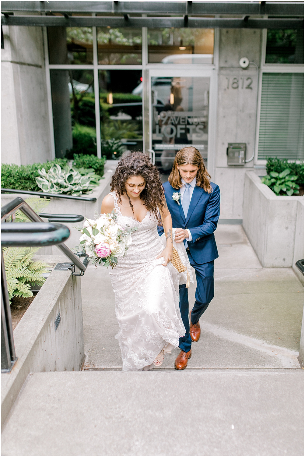 Seattle City Hall Courthouse Wedding Elopement | Seattle Wedding Photographer | Emma Rose Company | Downtown Seattle Wedding Inspiration | Pacific Northwest Elopement | Courthouse Elopement in the City-22.jpg