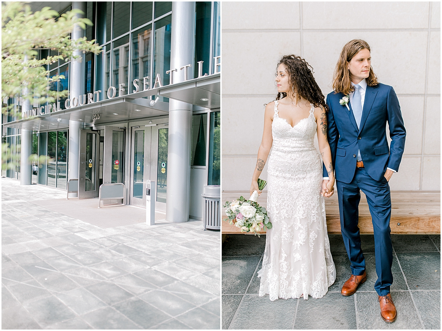Seattle City Hall Courthouse Wedding Elopement | Seattle Wedding Photographer | Emma Rose Company | Downtown Seattle Wedding Inspiration | Pacific Northwest Elopement | Courthouse Elopement in the City-40.jpg
