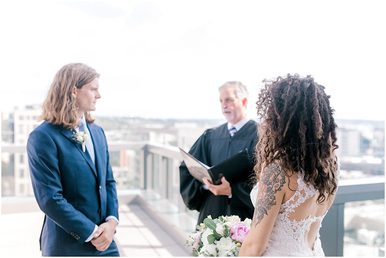 Seattle City Hall Courthouse Wedding Elopement | Seattle Wedding Photographer | Emma Rose Company | Downtown Seattle Wedding Inspiration | Pacific Northwest Elopement | Courthouse Elopement in the City-50.jpg
