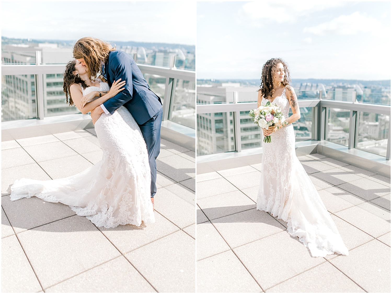 Seattle City Hall Courthouse Wedding Elopement | Seattle Wedding Photographer | Emma Rose Company | Downtown Seattle Wedding Inspiration | Pacific Northwest Elopement | Courthouse Elopement in the City-55.jpg