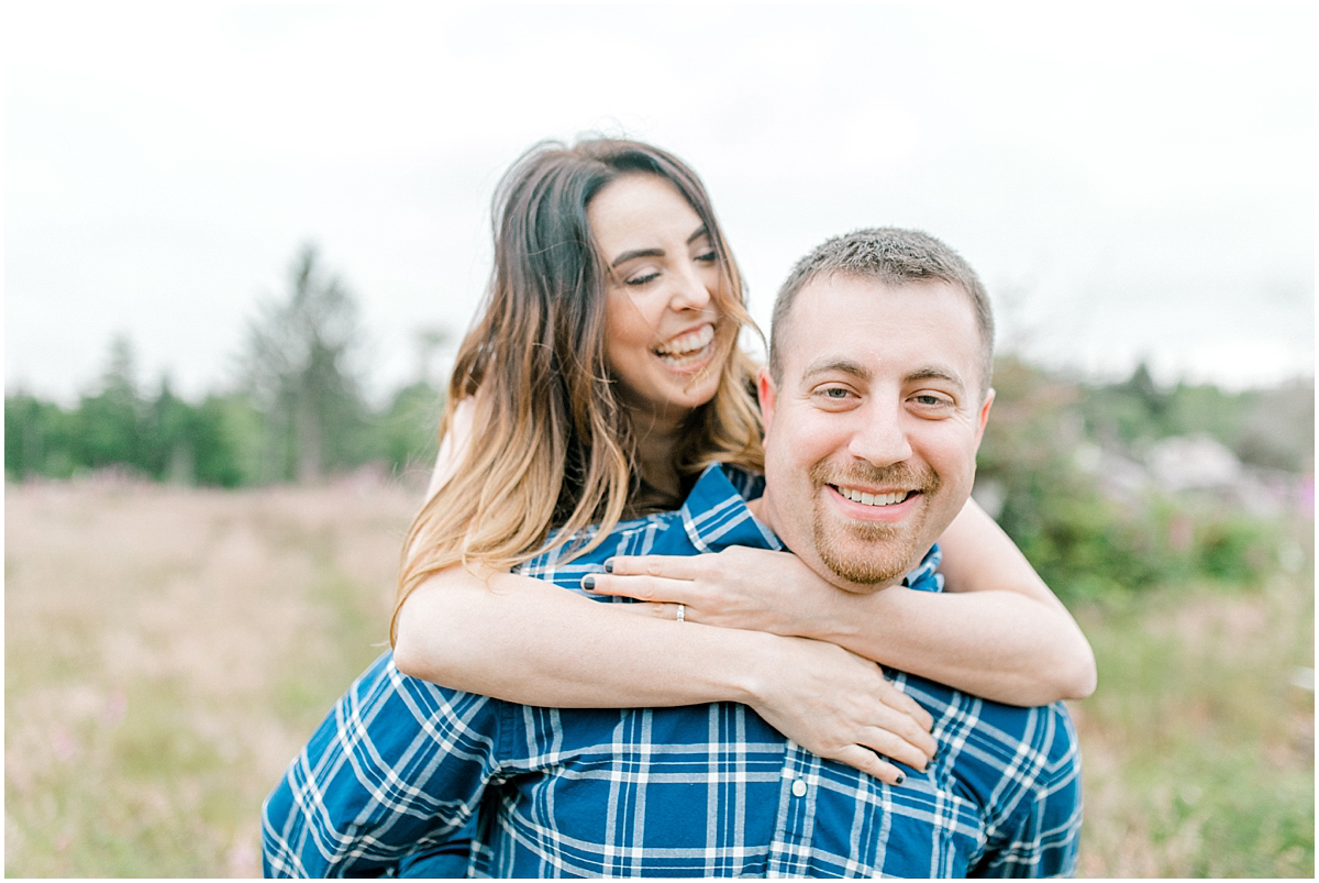 Beautiful Evening Engagement Session on Rose Ranch | Emma Rose Company Seattle and Olympia Wedding and Portrait Photographer | Engagement in Foxglove Field | Flowers | Pacific Northwest Wedding and Elopement Photographer-33.jpg
