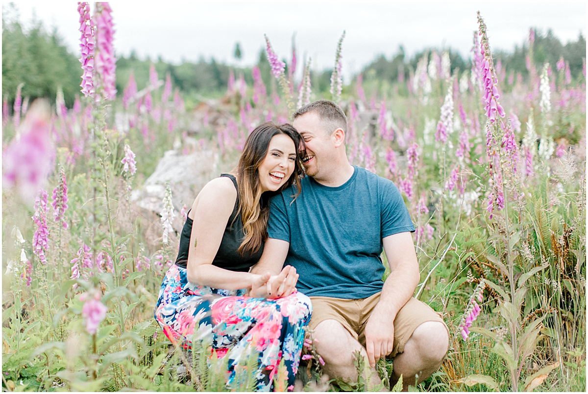 Beautiful Evening Engagement Session on Rose Ranch | Emma Rose Company Seattle and Olympia Wedding and Portrait Photographer | Engagement in Foxglove Field | Flowers | Pacific Northwest Wedding and Elopement Photographer-23.jpg