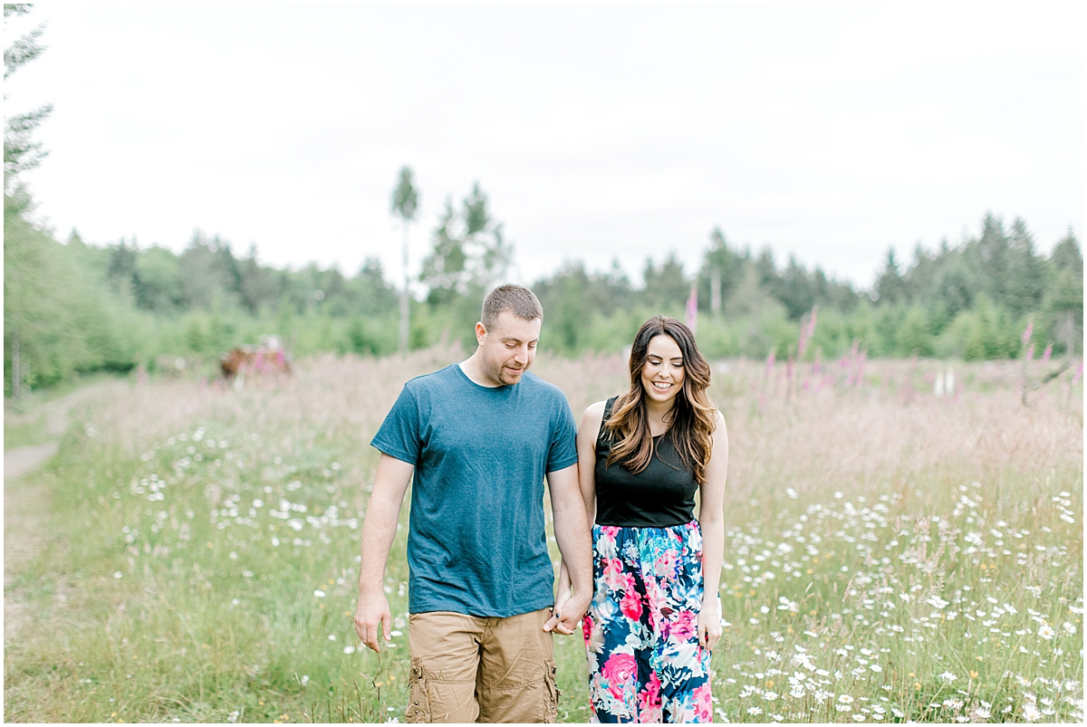Beautiful Evening Engagement Session on Rose Ranch | Emma Rose Company Seattle and Olympia Wedding and Portrait Photographer | Engagement in Foxglove Field | Flowers | Pacific Northwest Wedding and Elopement Photographer-8.jpg