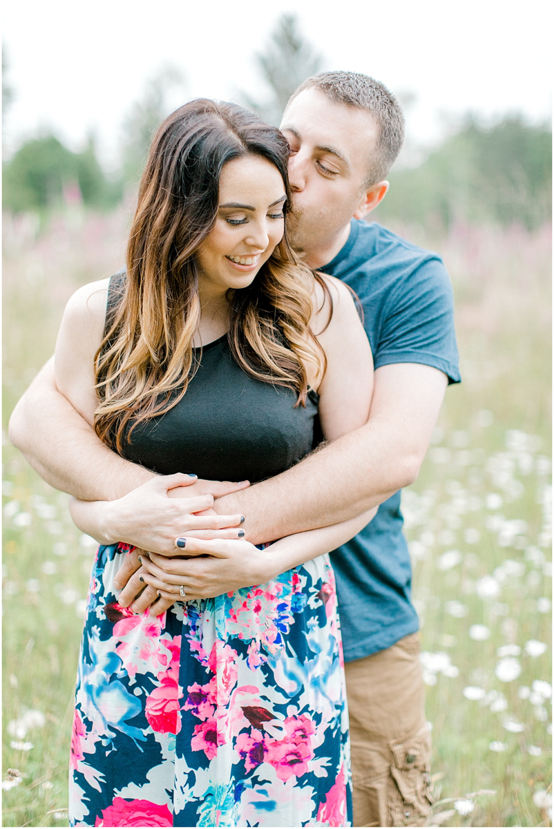 Beautiful Evening Engagement Session on Rose Ranch | Emma Rose Company Seattle and Olympia Wedding and Portrait Photographer | Engagement in Foxglove Field | Flowers | Pacific Northwest Wedding and Elopement Photographer-7.jpg