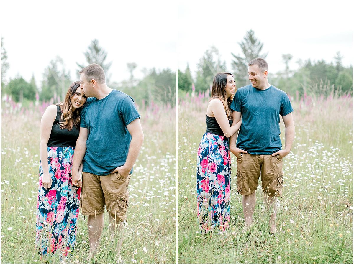 Beautiful Evening Engagement Session on Rose Ranch | Emma Rose Company Seattle and Olympia Wedding and Portrait Photographer | Engagement in Foxglove Field | Flowers | Pacific Northwest Wedding and Elopement Photographer-3.jpg