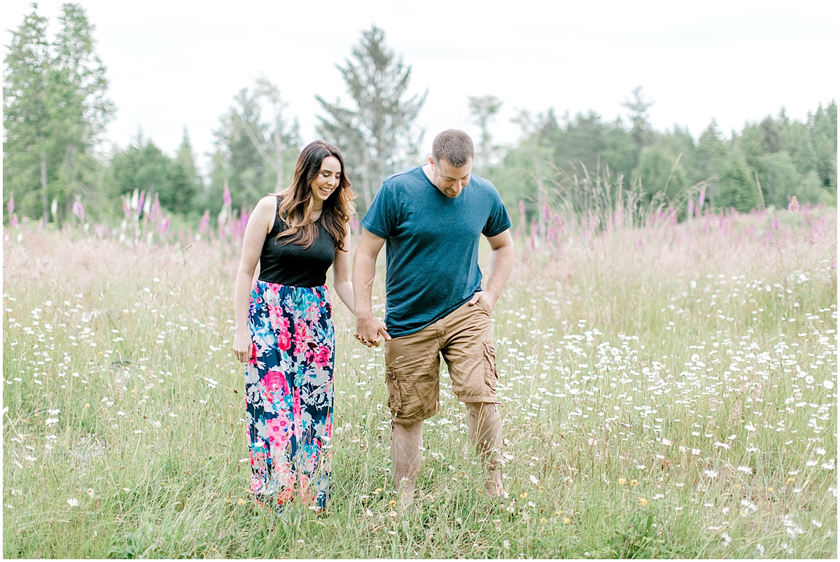 Beautiful Evening Engagement Session on Rose Ranch | Emma Rose Company Seattle and Olympia Wedding and Portrait Photographer | Engagement in Foxglove Field | Flowers | Pacific Northwest Wedding and Elopement Photographer-2.jpg