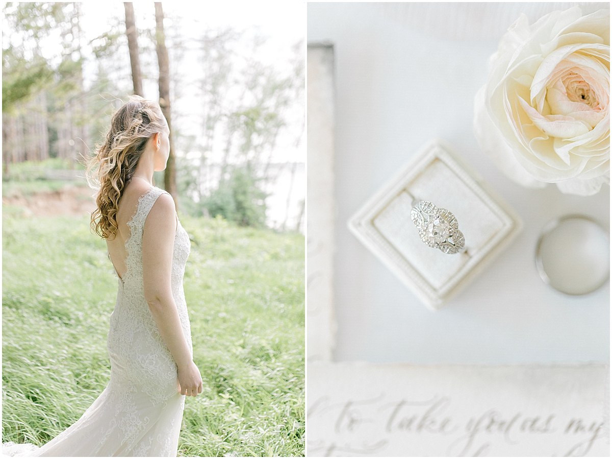 Pacific Northwest Elopement on Rose Ranch | Emma Rose Company Seattle and Portland Wedding Photographer | Engaged | Lace Wedding Gown | Peonie and ranunculus bouquet-4.jpg