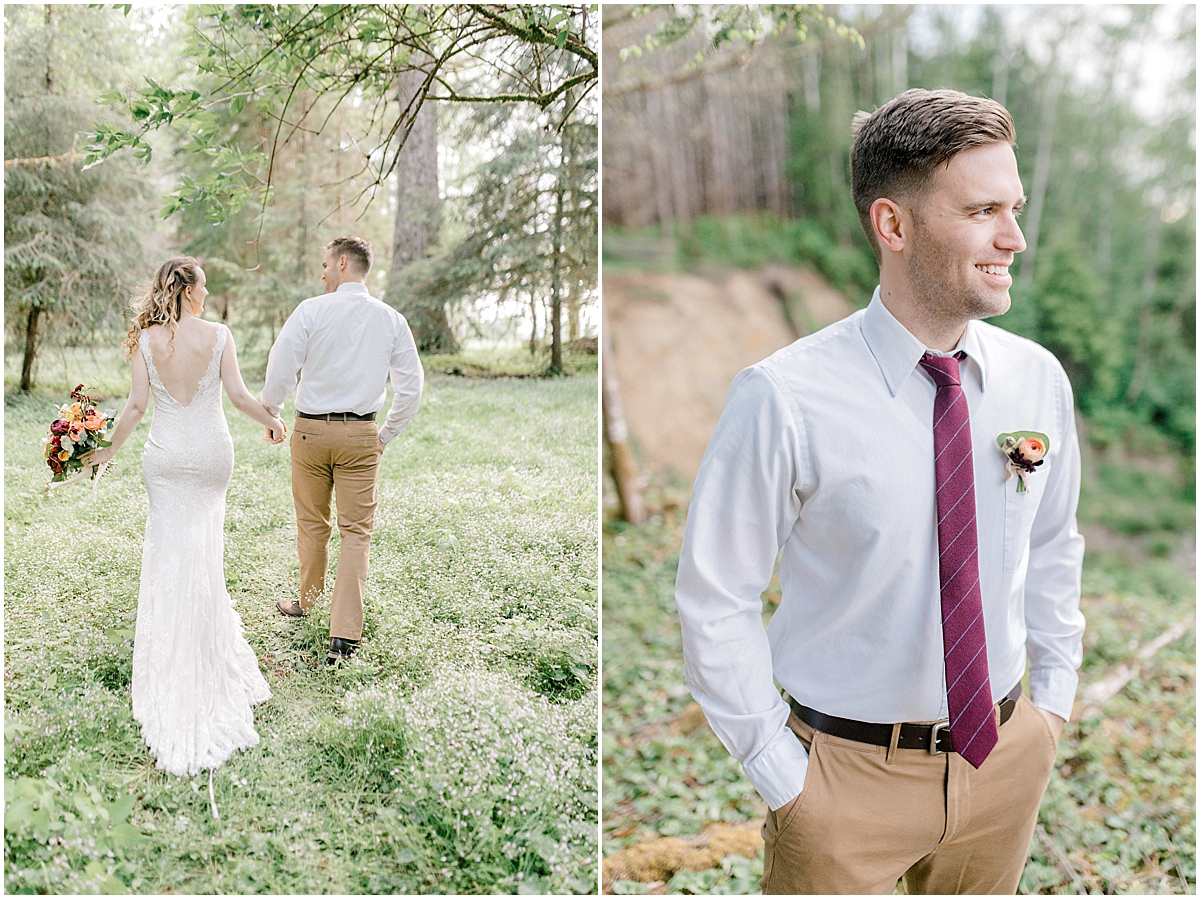 Pacific Northwest Elopement on Rose Ranch | Emma Rose Company Seattle and Portland Wedding Photographer | Engaged | Lace Wedding Gown | Peonie and ranunculus bouquet-12.jpg