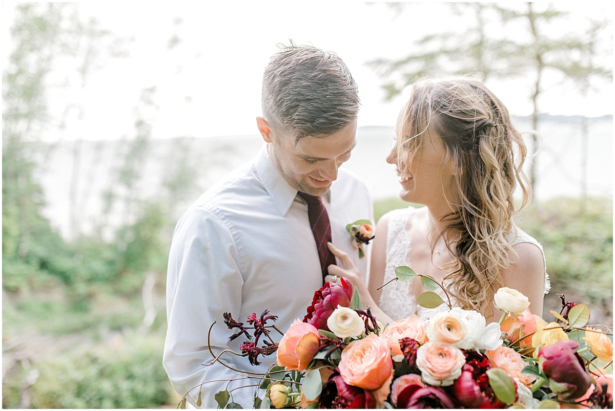 Pacific Northwest Elopement on Rose Ranch | Emma Rose Company Seattle and Portland Wedding Photographer | Engaged | Lace Wedding Gown | Peonie and ranunculus bouquet-13.jpg