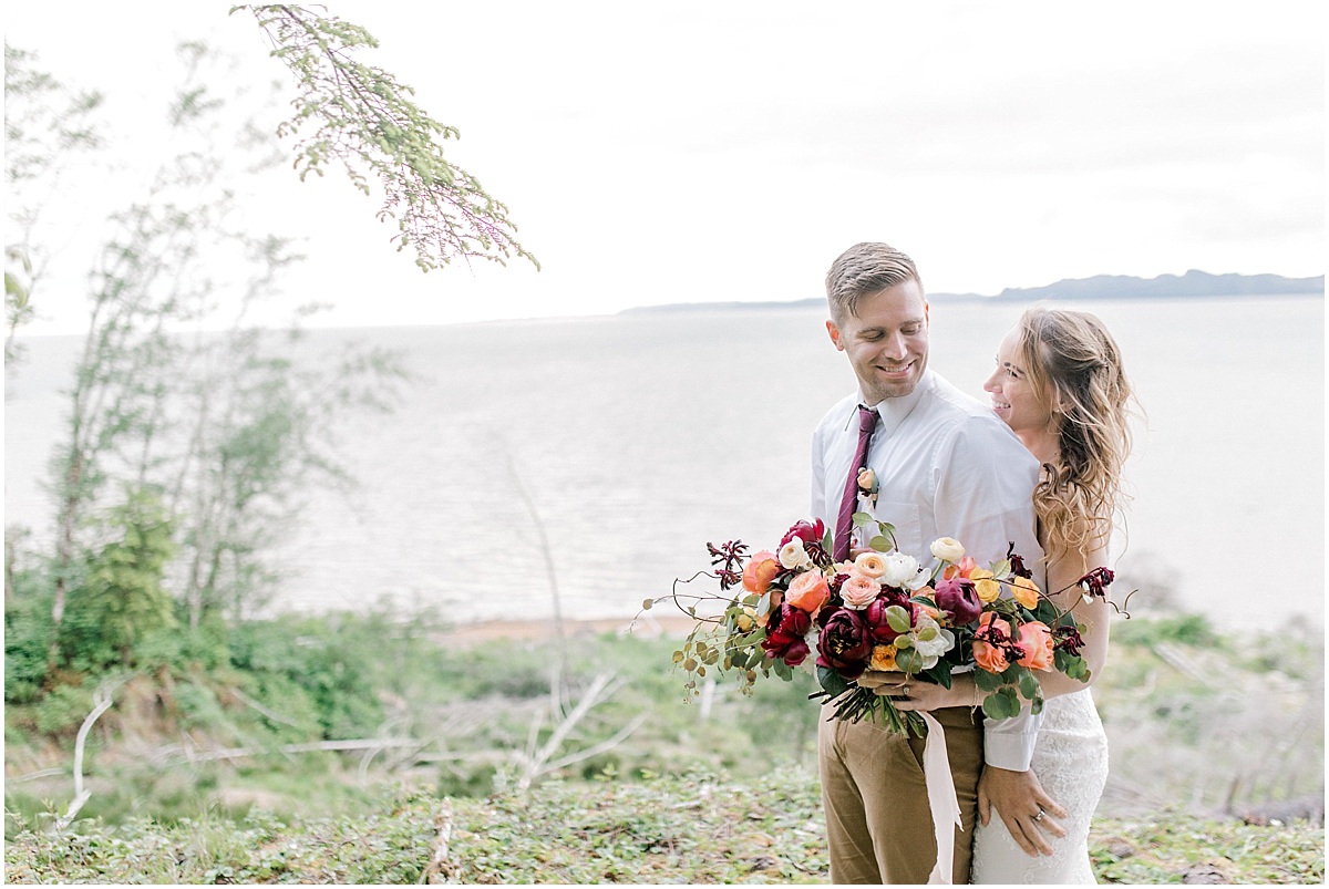 Pacific Northwest Elopement on Rose Ranch | Emma Rose Company Seattle and Portland Wedding Photographer | Engaged | Lace Wedding Gown | Peonie and ranunculus bouquet-20.jpg