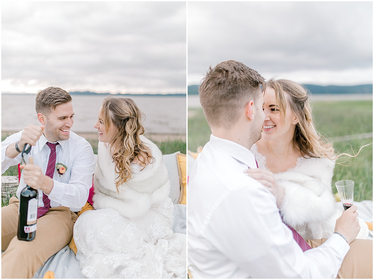 Pacific Northwest Elopement on Rose Ranch | Emma Rose Company Seattle and Portland Wedding Photographer | Engaged | Lace Wedding Gown | Peonie and ranunculus bouquet-32.jpg