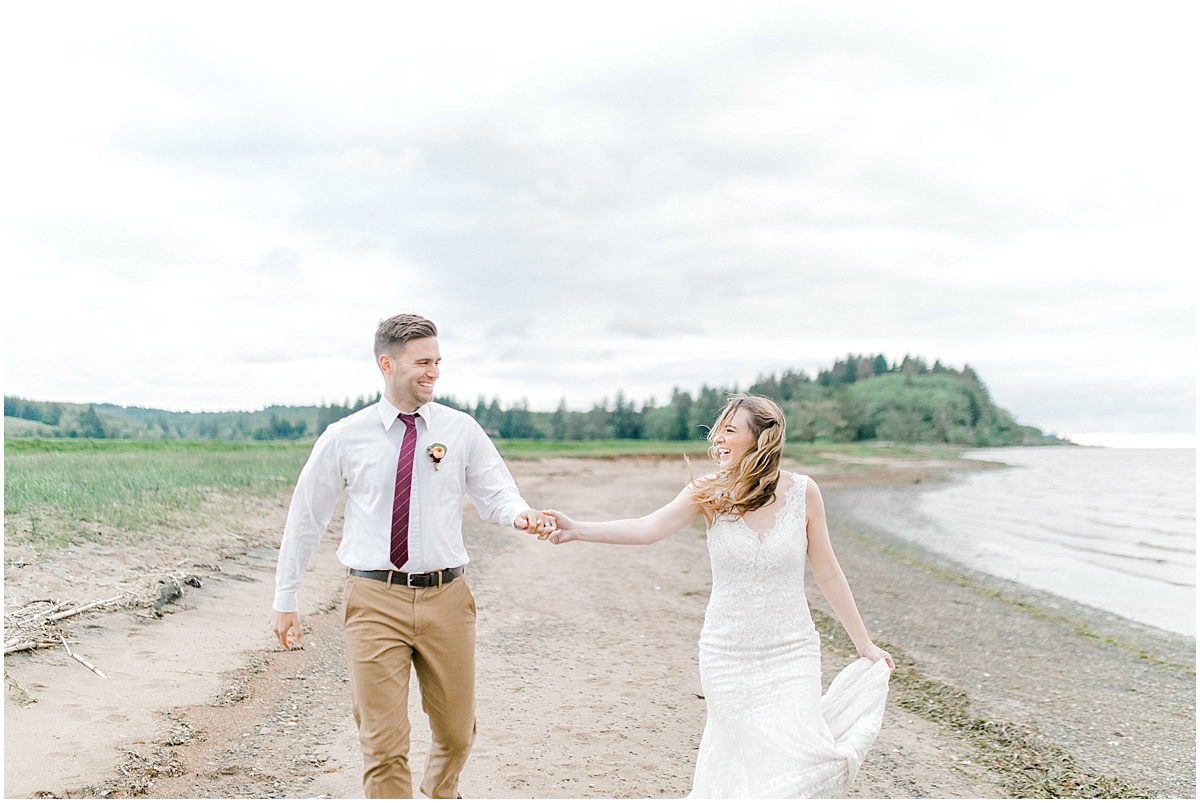 Pacific Northwest Elopement on Rose Ranch | Emma Rose Company Seattle and Portland Wedding Photographer | Engaged | Lace Wedding Gown | Peonie and ranunculus bouquet-34.jpg