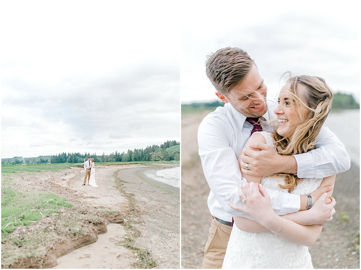 Pacific Northwest Elopement on Rose Ranch | Emma Rose Company Seattle and Portland Wedding Photographer | Engaged | Lace Wedding Gown | Peonie and ranunculus bouquet-35.jpg