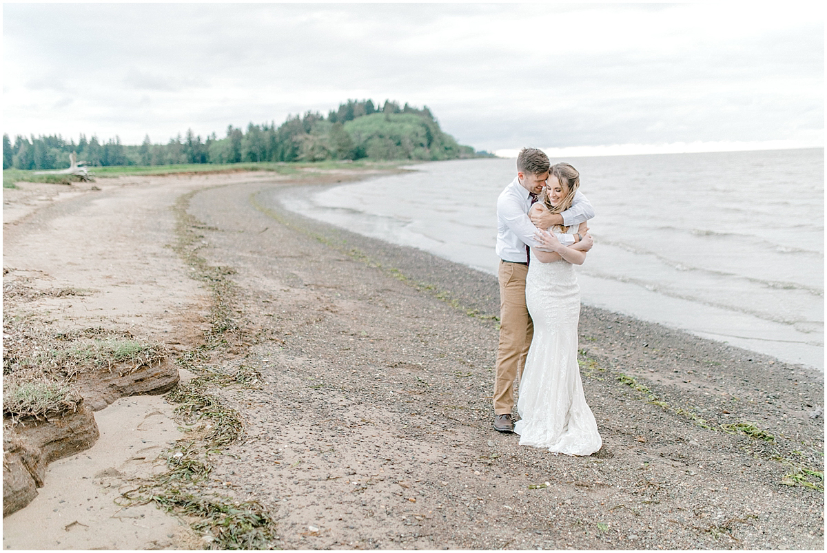 Pacific Northwest Elopement on Rose Ranch | Emma Rose Company Seattle and Portland Wedding Photographer | Engaged | Lace Wedding Gown | Peonie and ranunculus bouquet-37.jpg