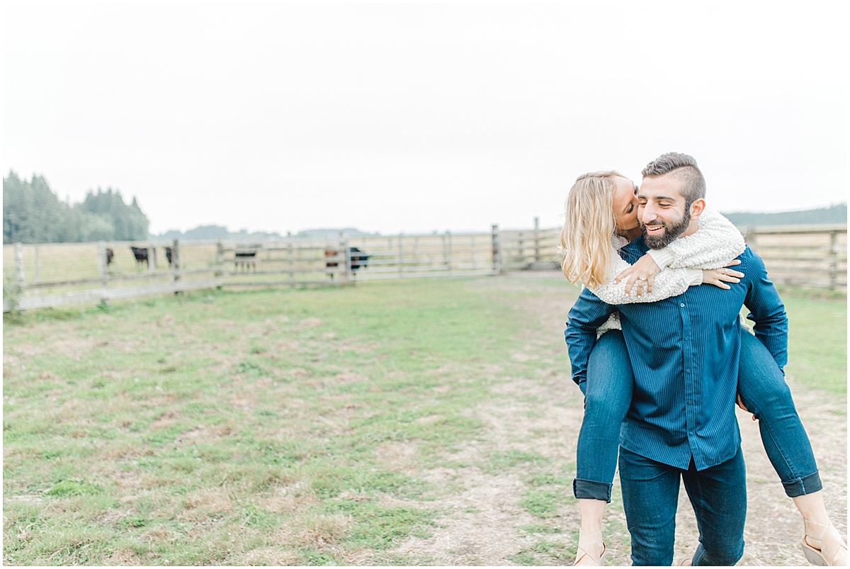 Emma Rose Company | PNW Engagement Session | What to Wear for Pictures | Rose Ranch Engagement | Sunset | Kindred Presets | Seattle Wedding Photographer Light and Airy_0265.jpg