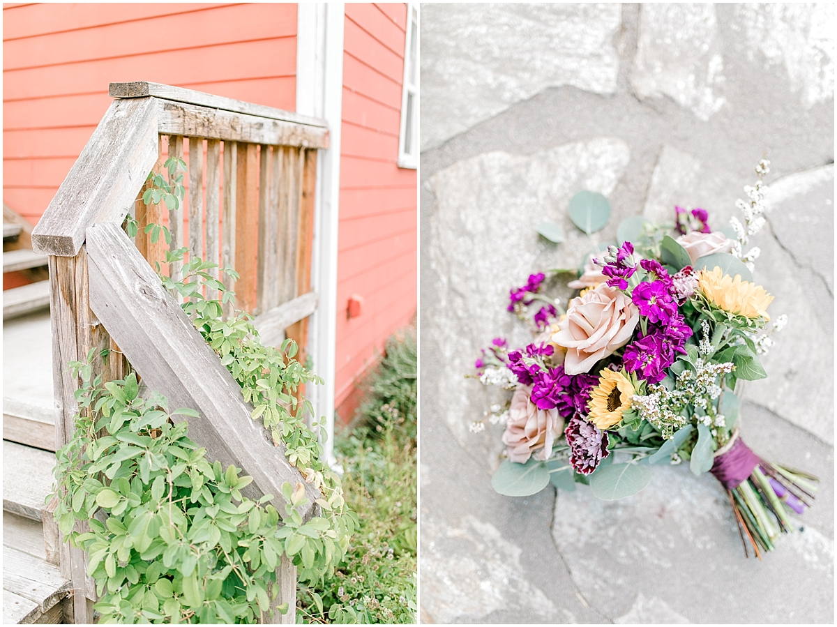 Sunflower themed wedding with purple accents, Emma Rose Company Seattle Wedding Photographer, Light and Airy photographer Kindred Presets Wedding Details PNW_0080.jpg