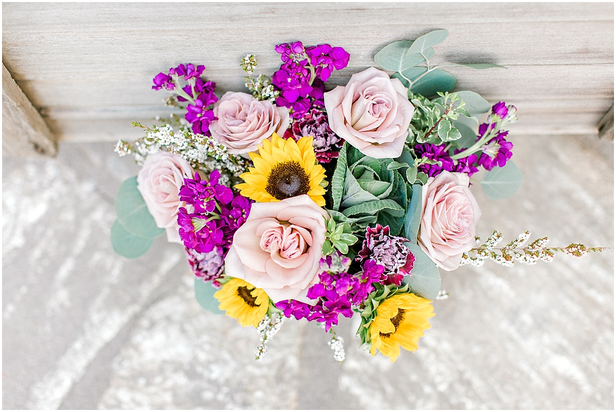 Sunflower themed wedding with purple accents, Emma Rose Company Seattle Wedding Photographer, Light and Airy photographer Kindred Presets Wedding Details PNW_0098.jpg