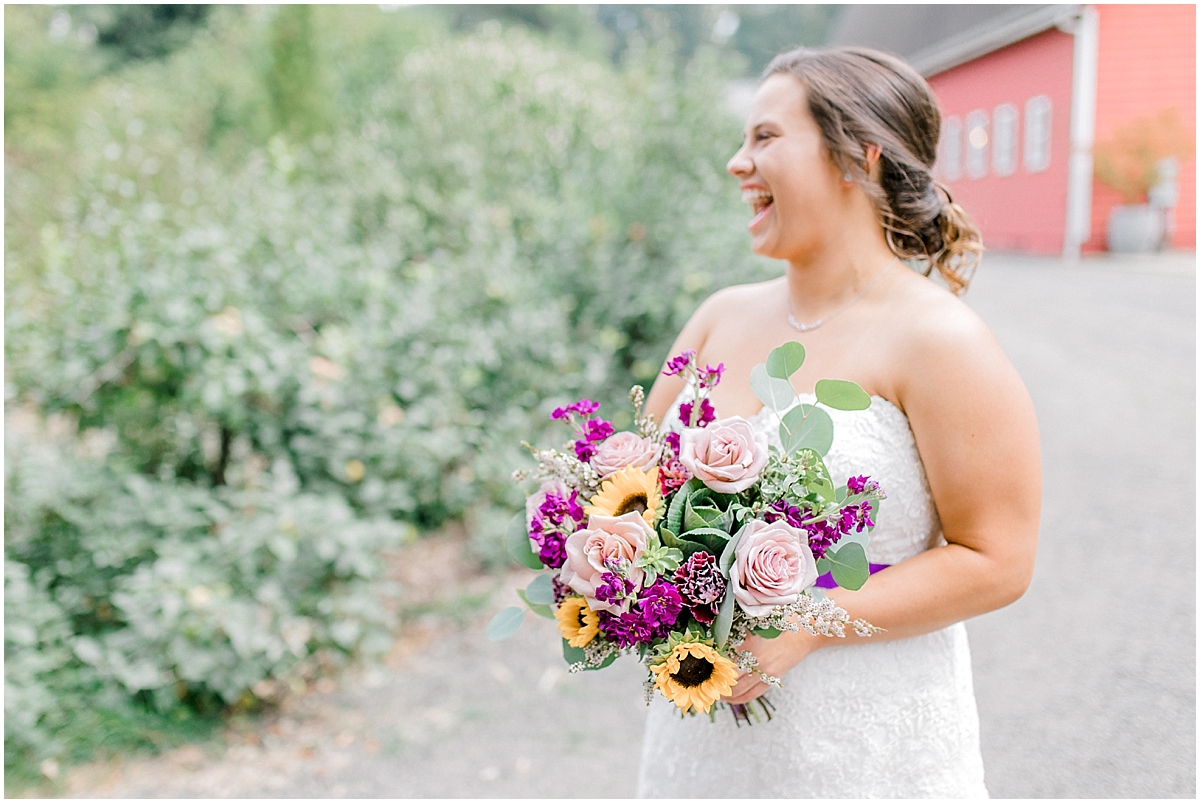 Sunflower themed wedding with purple accents, Emma Rose Company Seattle Wedding Photographer, Light and Airy photographer Kindred Presets Wedding Details PNW_0102.jpg