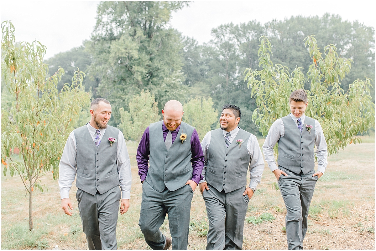 Sunflower themed wedding with purple accents, Emma Rose Company Seattle Wedding Photographer, Light and Airy photographer Kindred Presets Wedding Details PNW_0107.jpg