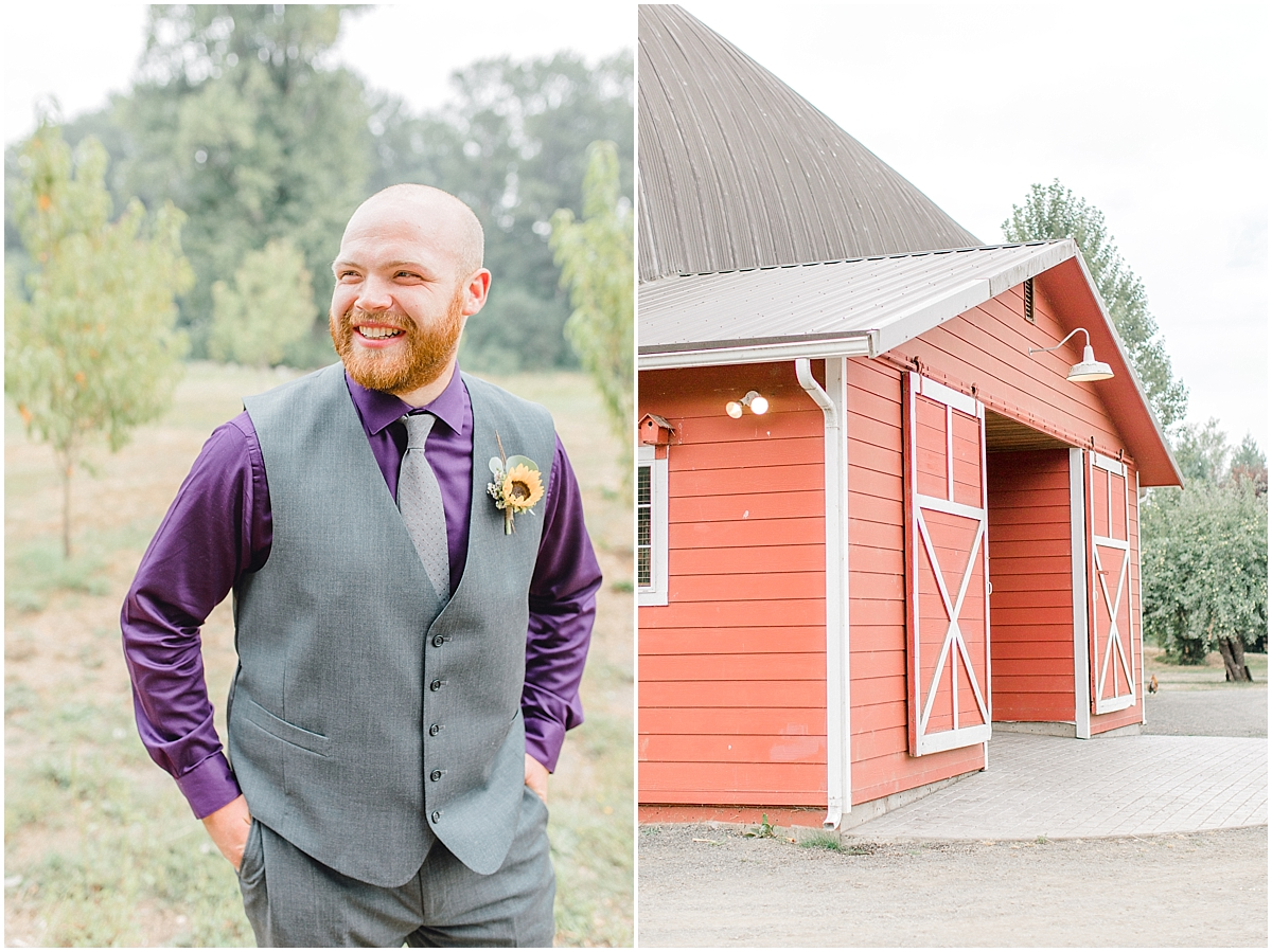 Sunflower themed wedding with purple accents, Emma Rose Company Seattle Wedding Photographer, Light and Airy photographer Kindred Presets Wedding Details PNW_0108.jpg